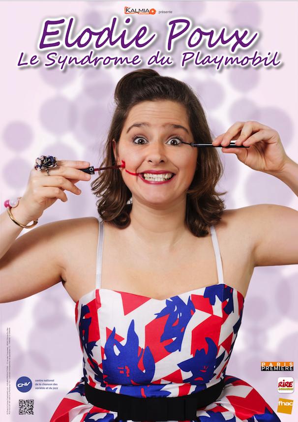 Affiche Elodie Poux