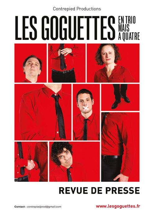 Les Goguettes - Revue de presse 2020